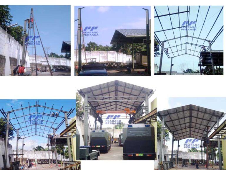 Kontraktor-fabrikasi-konstruksi-bangun-pabrik-gudang-Workshop-dengan-struktur-baja-wf
