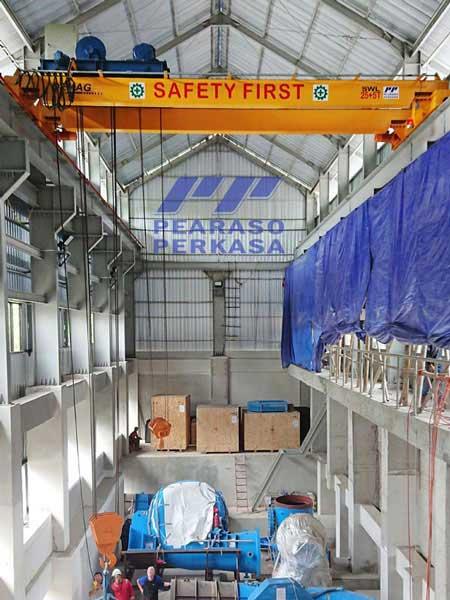 Fabrikasi Hoist Crane Konstruksi Hoist besar Kontraktor hoist crane Hoist double girder Overhead Crane Double Girder10