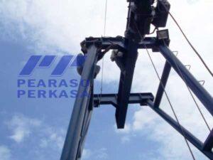 Fabrikasi Konstruksi Gantry Crane atau disebut juga Portal Crane atau Crane Gawang dijual oleh Kontraktor Gantry Crane